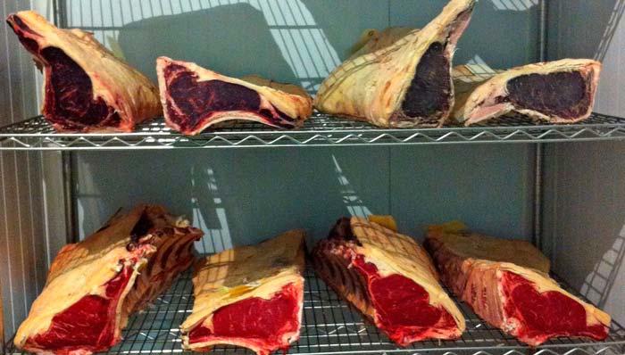 MAduració de la carn amb sistema dry-aged