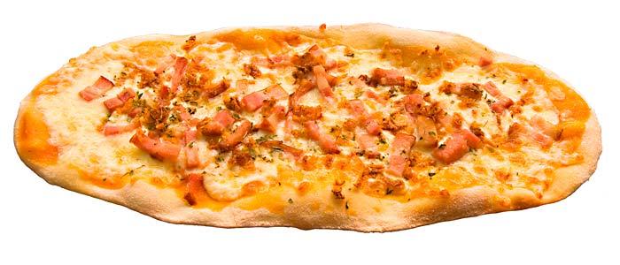 Pizza campera ovalada