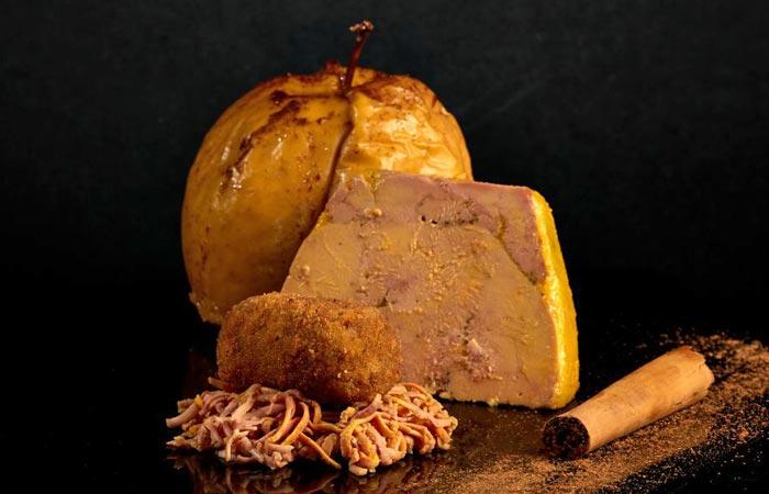 Croquetes de foie amb poma i canyella